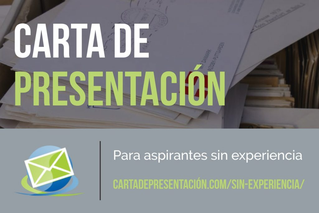 Carta de presentación para aspirantes sin experiencia